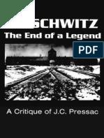 Auschwitz End of a Legend