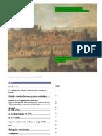 Evolucion de la Sevilla intramuros en el Siglo XVIII