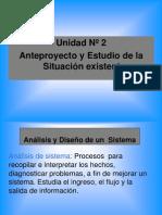 Analisis y Dise±o de un  Sistema-unidad 2- PARTE 1 2012