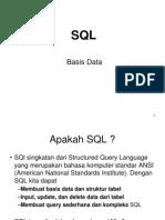 Bab 10 - SQL