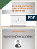 Transformada de Fourier y Sus Aplicaciones