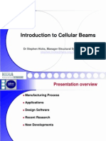 Cellular Beams