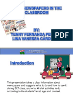 Using Newspapers in ESL/EFL Classroom
