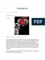 Cheese Fruts proyecto final marketing operativo