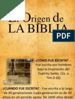 El Origen de La Biblia (Animado)