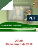 Fotomemorias y Evaluacion Taller BDD