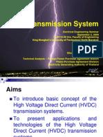HVDC Transmission System for KMUTNB
