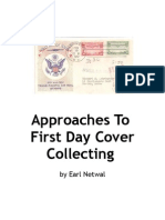 Approaches to First Day Cover Collecting