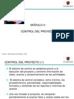 Apuntes Sobre Admproy Control Del Proyecto
