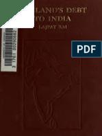 Rai, Lala Lajpat - England's Debt to India