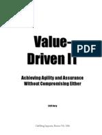 Value-Driven IT - Manuscript - 7x10