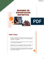 SESION 7 - Exportación Definitiva