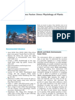 Environment as Stress Factor Stress Physiology of Plants