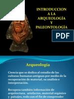 ARQUEOLOGIA Y PALEONTOLOGÍA