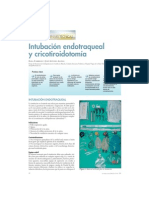Intubación endotraqueal y cricotiroidotomía