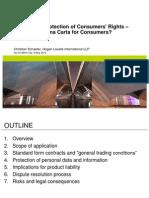 HCMLIB01 #1011234 v2 Consumer Protection Presentation