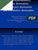 Eczema(Dermatitis), Atopic Dermatitis, Seborrhoeic Dermatitis