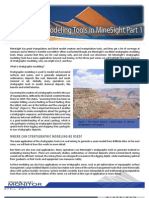 Stratigraphic Modeling Tools Minesight