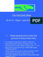 Flat Earth Bible 05 of 10 - Sheol - Land of the Dead