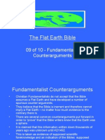 Flat Earth Bible 09 of 10 - Fundamentalist Arguments