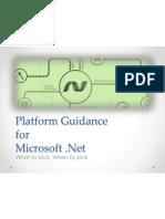 Platform Guidance