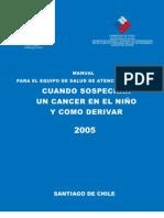 Manual de Cancer Infantil