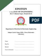 EE56 Power Electronics
