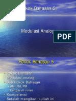 5 Modulasi Analog
