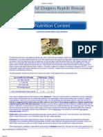 Nutrition Content