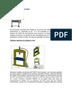 Modelo de Prensas Manuales