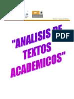 Analisis de Textos Academicos
