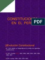 Constituciones en El Peru