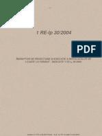 1 RE IP 30 2004 Indreptar de Proiectare Si Executie a Instalatiilor de Legare La Pamant