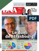 Les résultats du premier tour des législatives en Alsace