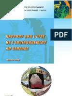 Rapport Etat Envi
