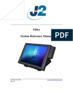 POS J2 520ex Technical Manual