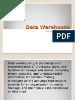 Data Warehouse Final Report