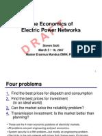 Stoft 2007 03 DRAFT Economics Electricity Networks