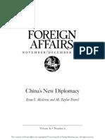 China's New Diplomacy