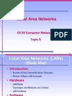 CS 55 - Local Area Networks