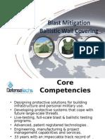 Ballistic Wall Covering WM Defensetechs