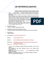 Formulir Informasi Jabatan Bkn Baru