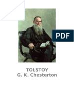 Chesterton g - Tolstoy