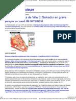 (El 88% de casas de Villa El Salvador en grave peligro en caso de terremoto _ El Comercio Perú)