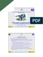 Presentacion Portal Web Regional de Inserción Laboral para Centroamerica y República Dominicana. Agosto 2008
