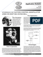 Hydraulic Rotary Actuators Control Manipulator Arms on Deep Sea Diving Bell