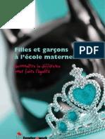 Genderatwork Filles Garcons Maternelle