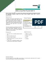 Brake & Clutch Fluid Dot 4