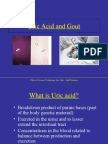 Presentation - Uric Acid