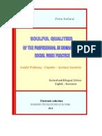 eBook - Spiritual Qualities of the Professional in Humanistic Social Work Practice, Petru Stefaroi, Bilingual Edition (English - Romanian)